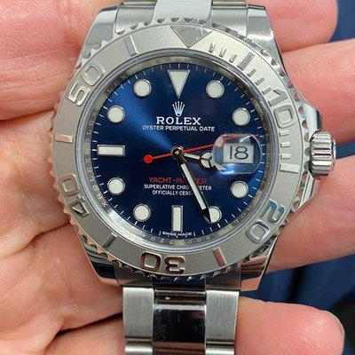 FSOT: Rolex Yachtmaster 116622 Blue Dial