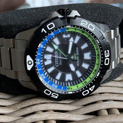 SOLD :Citizen Promaster GMT