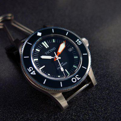 TRADED Diver watch ProProf project with domed sapphire and NH35 automatic movement