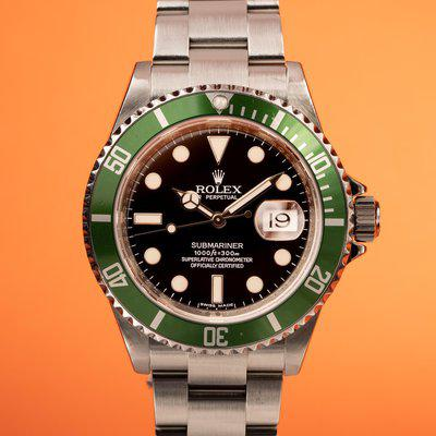FS: 2008 Rolex Anniversary Submariner 16610LV with Box and Papers