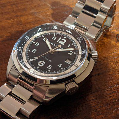 Final Reduction: Hamilton Khaki Pilot Pioneer Automatic w/factory leather strap AND stainless bracelet