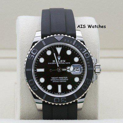 FSOT - BNIB Rolex Yachtmaster 226659 White Gold OysterFlex Strap 42 MM Box & Papers