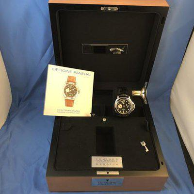 FS: Rare Luminor Panerai PAM156 GMT Marina Regatta Limited Edition 2002. 44mm Steel