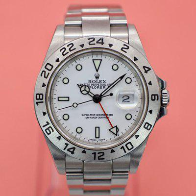 FS: 2002 Rolex Explorer II Ref. 16570 Polar   Unpolished   Papers and Hangtags