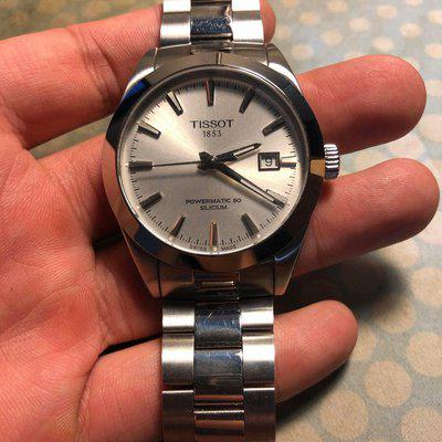 [WTS] Tissot Silicium Powermatic 80 Silver Dial $370USD Shipped