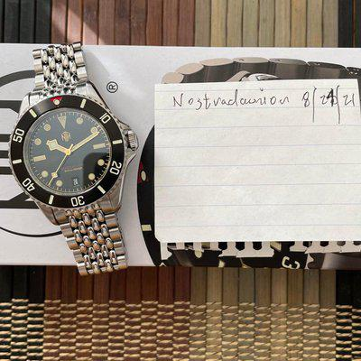 [WTS] NTH Barracuda Vintage Black V2 With Date