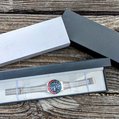 FS: Timex Q Reissue Steel with Pepsi Bezel Boxes/Papers