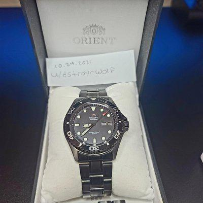 [WTS] Orient Ray Raven 2 (black) 180$ obo used