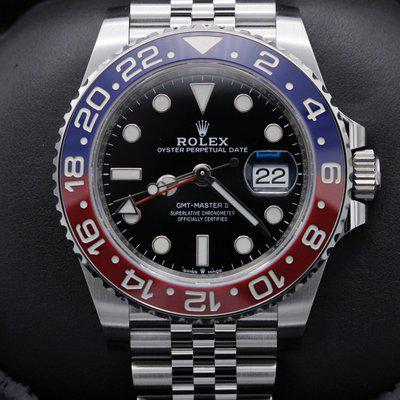 FSOT: Rolex GMT Master II - 126710BLRO - Pepsi - Stainless - Jubilee - New 2021
