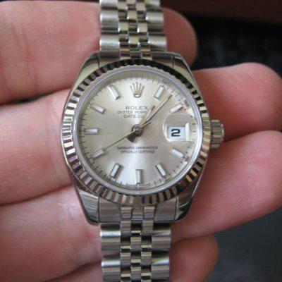 FS: ROLEX Ladies Stainless/WG Datejust 179174