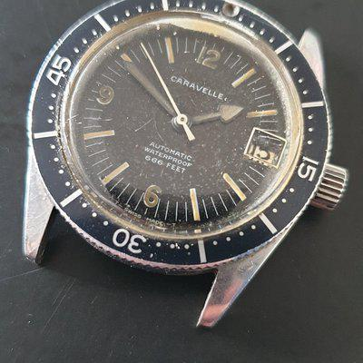 FS: SOLD!!!Caravelle 666ft automatic waterproof diver