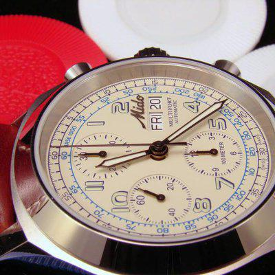 FS: PRICE DROP $795 - OBO - Mido Multifort Automatic Chronograph with Top Grade Movement with box and papers