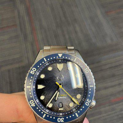 [WTS] Zelos Mako v3 Midnight Blue Whirlpool with Bracelet with Travel Case and Wooden Box