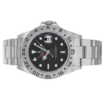Rolex 16570 Explorer II Z Black Dial Box and Papers