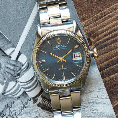 FSOT - The personal Rolex wristwatch of Canadian Icon and NHL legend Howie Meeker.