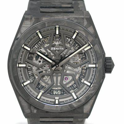FS: Pre-Owned Zenith DEFY Classic Carbon 10.9001.670/80.M9000