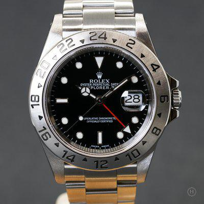 [WTS] 2002 Rolex Explorer II Ref. 16570 with Papers