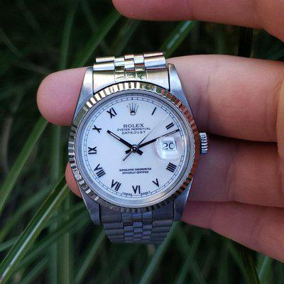 [WTS]Rolex Datejust 16234 with roman numeral dial