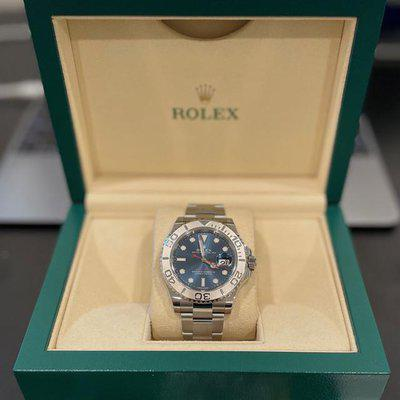FS: Rolex 116622 Yacht-Master blue dial - complete