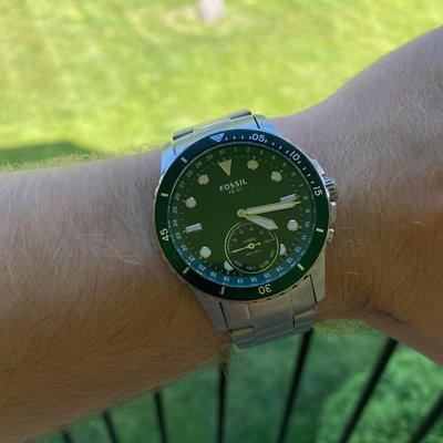 [WTS] Green Fossil Hybrid Smartwatch - $50 shipped to the USA