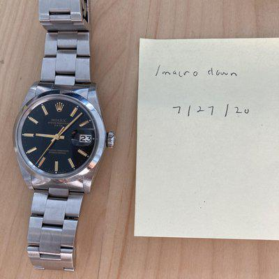 [WTS] Rolex Date 1500 with newer bracelet