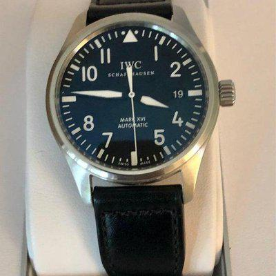 [WTS] IWC Mark XVI 3255 Pilot on Santoni Strap, Box and Papers, Serviced