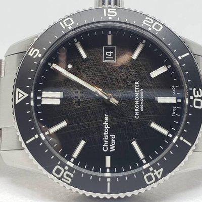 FSOT- CHRISTOPHER WARD TRIDENT COSC OMBRE DIAL LE OF 300