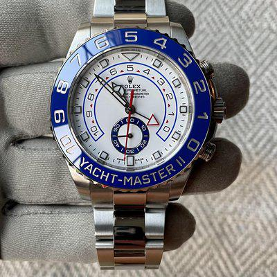 FS Yacht-Master II Box and Papers Excellent Condition Mercedes Hands