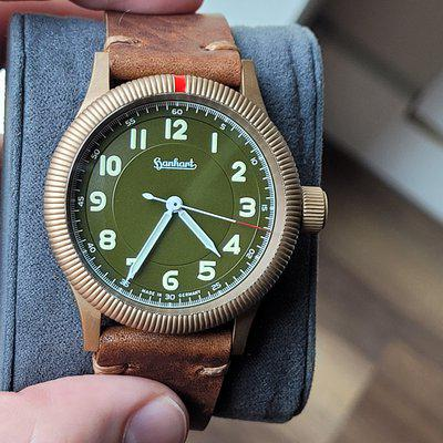 FSOT: Hanhart Pioneer One Bronze Limited Edition 42mm - 14×/150