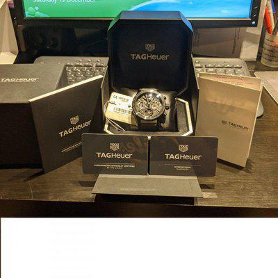 TAG HEUER WATCH CARRERA HEUER 02T TOURBILLON BLACK PHANTOM LIMITED EDITION