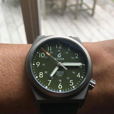[WTS] Boldr 38mm Venture in Jungle Green with NATO and Titanium Bracelet