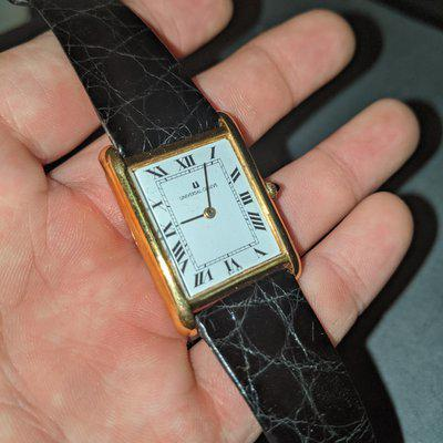 [WTS] Vintage Universal Geneve Ultra Thin Tank with 18k Solid Gold Case