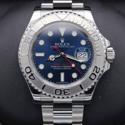 FSOT: Rolex Yacht Master - 116622 - Blue Dial - Stainless Steel - Mint - 2016