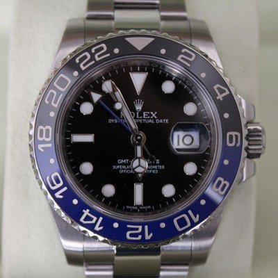 FS: Rolex 116710BLNR / 116710 BLNR Batman WITH BOXES AND PAPERS! WOW MUST SEE!!!!!!