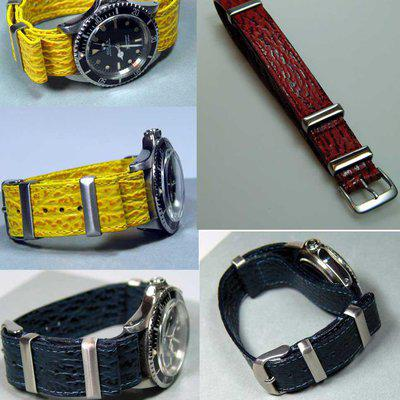 NATO Shark Straps Hand made by Jurgens Germany FS