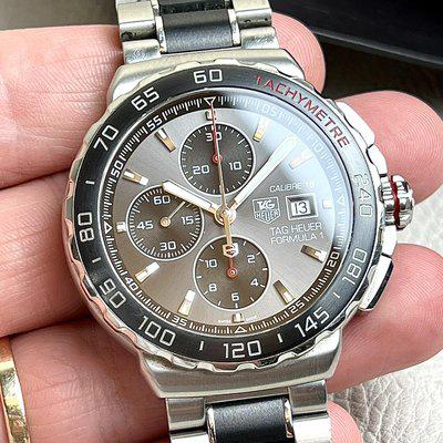 [WTS] Tag Heuer Formula 1 - Cal. 16 Automatic Chronograph - grey dial - full kit!