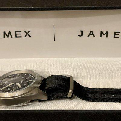[WTS] The James Brand x Timex Expedition North Titanium 41mm Automatic Watch - BRAND NEW