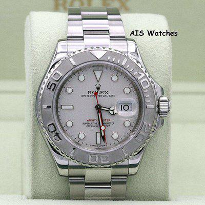 FSOT - Rolex YachtMaster 116622 Platinum Dial Random Serial Box & Papers
