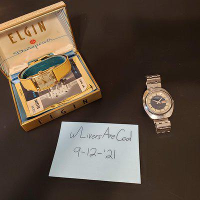 [WTS] SERVICED 1940s Elgin watch with Original Box and Papers! - $150