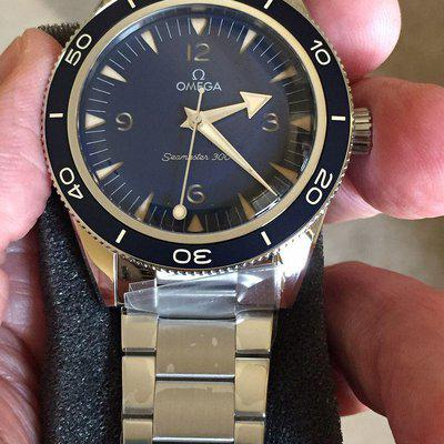 FSOT: Omega 2021 release Seamaster 300 Co-Axial ref 234.30.41.21.03.001 (Price Drop)