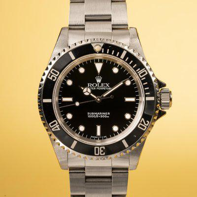 FS: 1991 Rolex Submariner 14060 with Papers