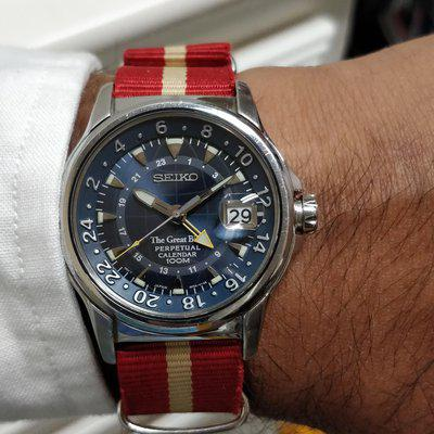 [WTS] The Great Blue (GMT / Perpetual)