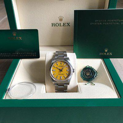 FSOT: Rolex 126000 Oyster Perpetual 36 with Yellow Dial
