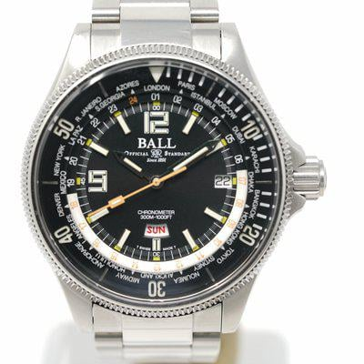 FS: Pre-Owned Ball Engineer Master II Diver Worldtime DG2232A-SC-BK