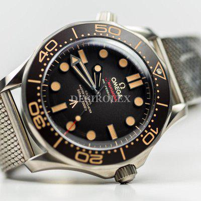 FSOT: NEW Omega Seamaster Diver 300M James Bond 007 No time to Die Bracelet