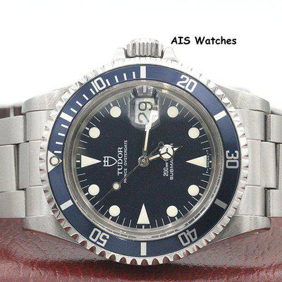 FSOT - Tudor Submariner 79090 Blue Dial 40MM Box & Papers