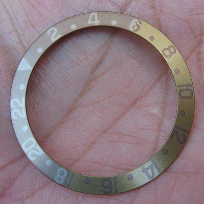 FS: NOS Faded Fat Fonts Root-beer insert Rolex GMT 1675/3 - Super nice!