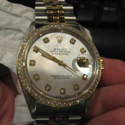 FS: ROLEX 16233 18K Gold/Stainless Datejust