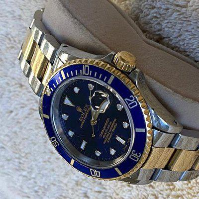 WTS: ROLEX SUBMARINER Ref 16613 - Bluesy N Serial Number  1991