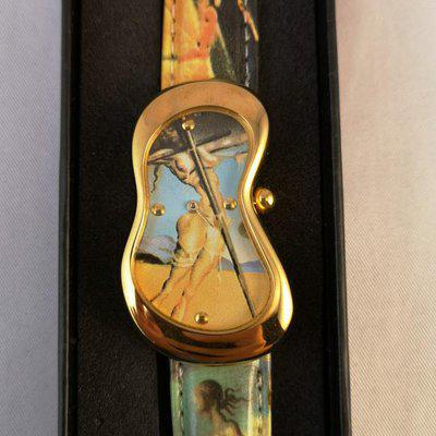 Cartier ispired Softwatch Crash Salvador Dalì Limited